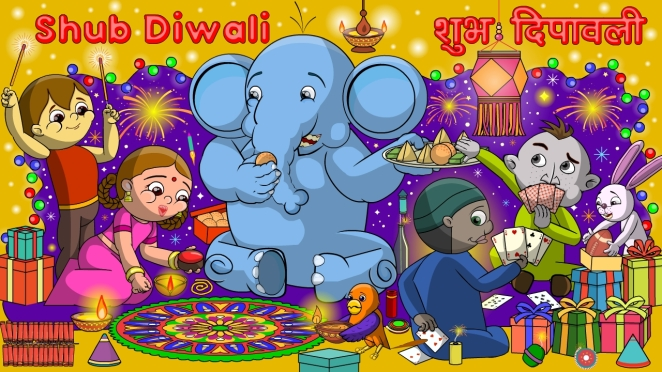 Happy Diwali 1280