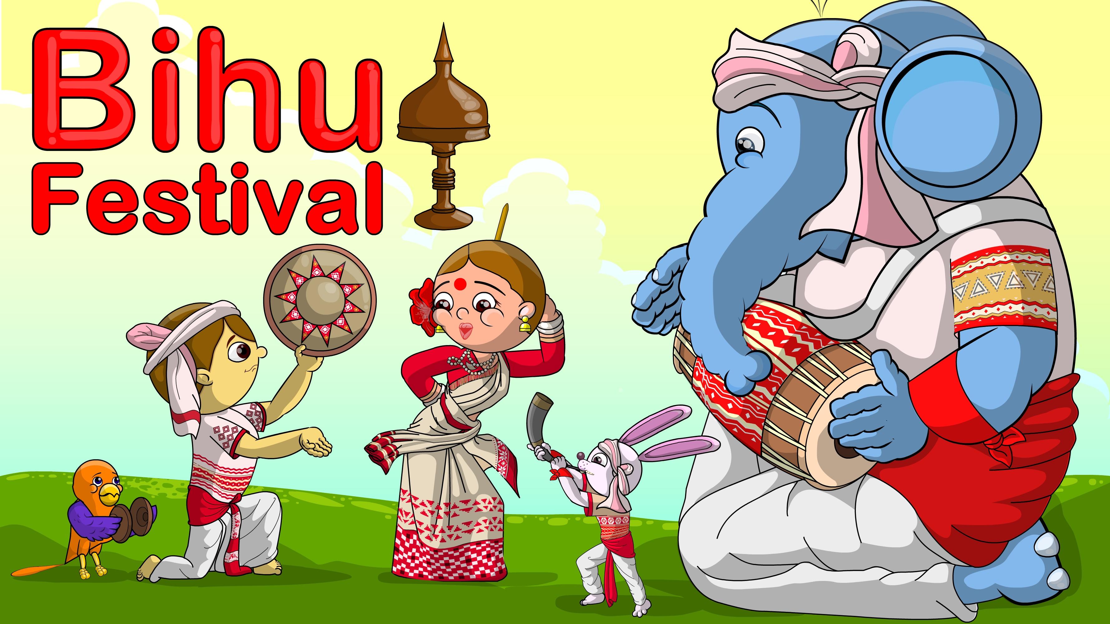Happy Bihu festival | ChinuMeenu